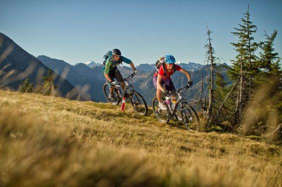 Mountainbiken - Sommerurlaub im Salzburger Land, Österreich