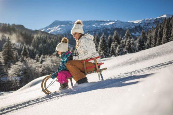 Rodeln - Winterurlaub im Salzburger Land
