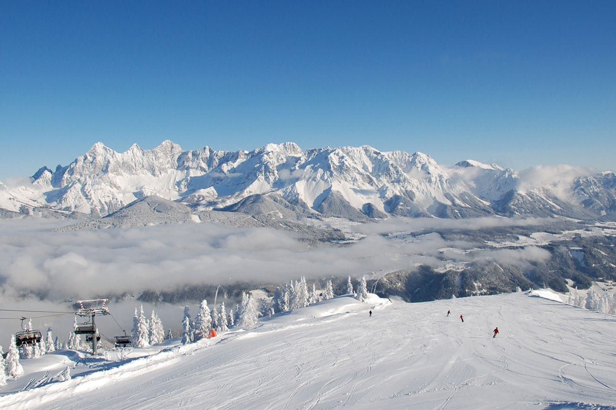 Ski And Winter Holiday In Forstau In Salzburger Land